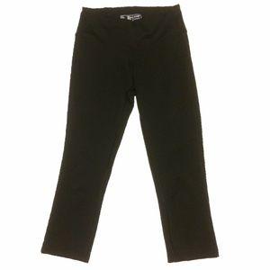 New Balance Solid Black Yoga Pants Size XS